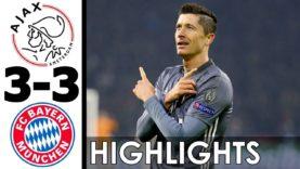 Ajax vs Bayern Munich 3-3 All Goals and Highlights w/ English