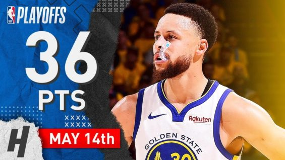0194580851a5 Stephen Curry Full Game 1 Highlights vs Trail Blazers 2019 NBA Playoffs WCF  - 36 Pts