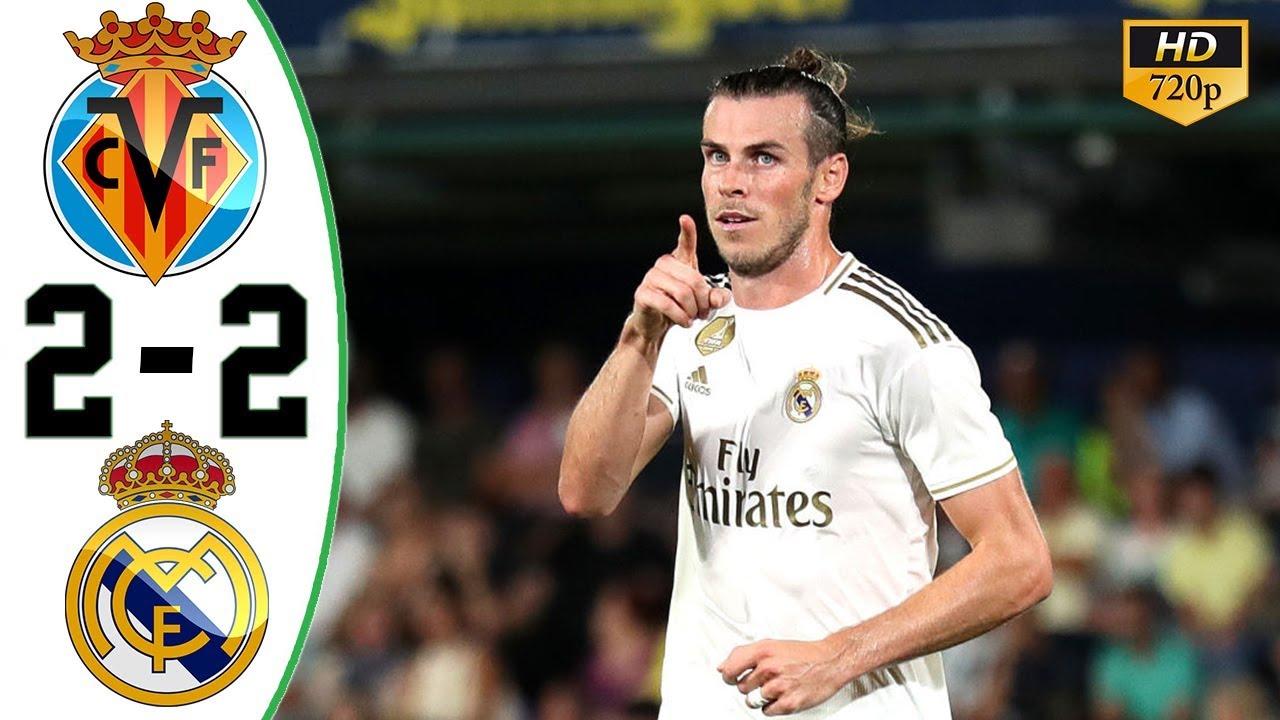 Villarreal Vs Real Madrid All Goals Highlights HD ShareonSport com