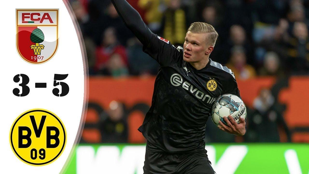 Augsburg vs Dortmund 3-5 - All Gоals & Extеndеd Hіghlіghts ...