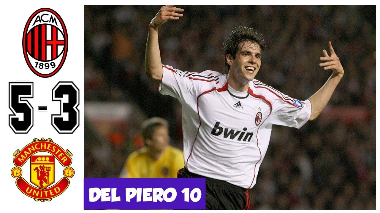 Ac Milan Vs Manchester United 5 3 Kaka Show His Magic To The World Ucl 2007 Shareonsport Com