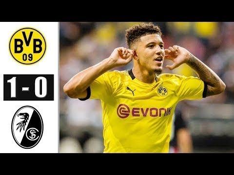 Dortmund vs Freiburg 1-0 All Goals & Extended Highlights ...