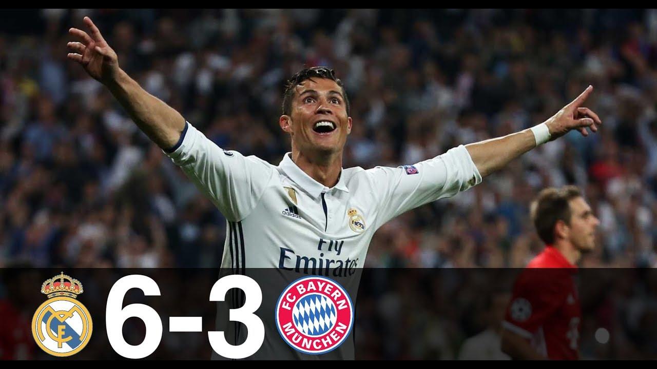 Bayern Real Madrid Highlights